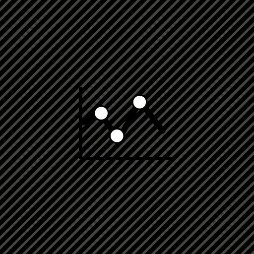 chart, graph, slim icon