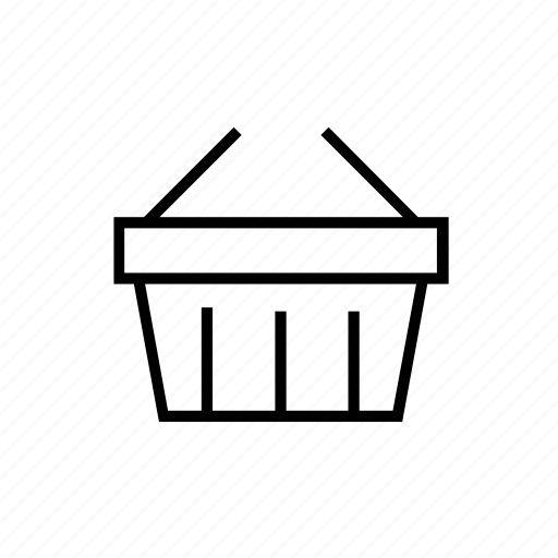 basket, ecommerce, shopping icon
