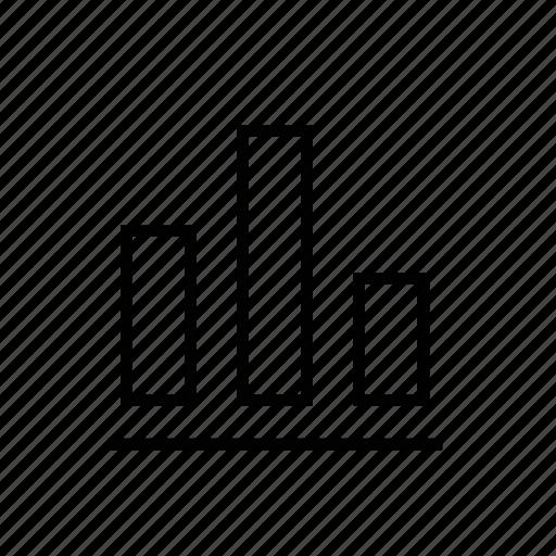 chart, marketing icon
