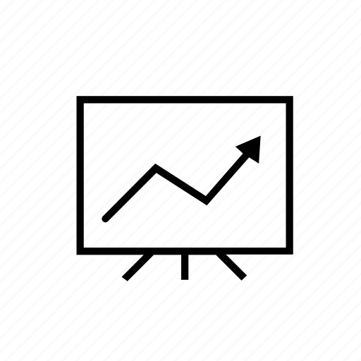demo, display, marketing, presentation, up icon