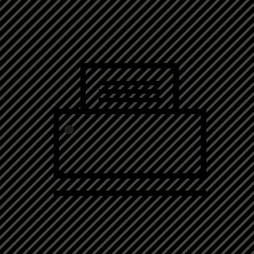 office, printer icon