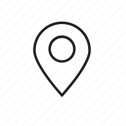 map, pin, web icon