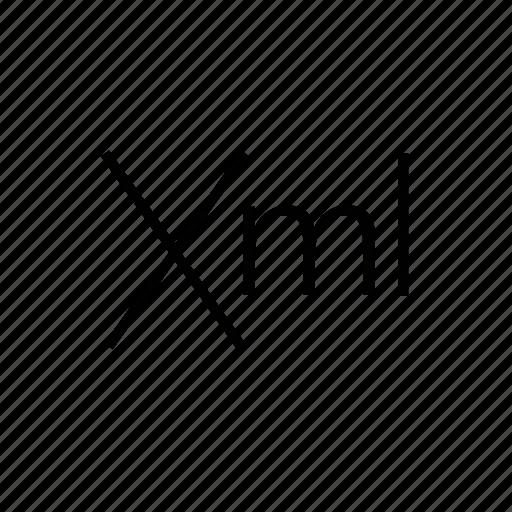 code, web, xml icon