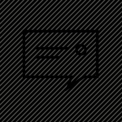 Web, talk icon
