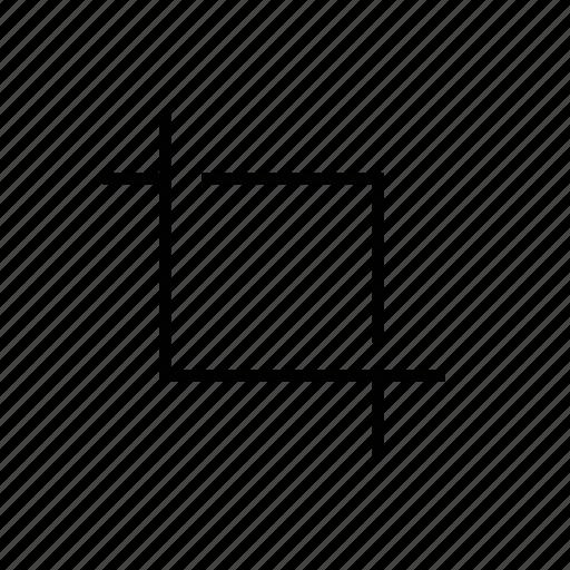 crop, web icon