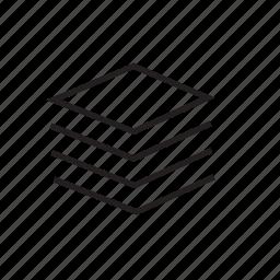 layer, web icon