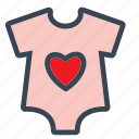 baby, babydress, boy, cloths, girl, shirt, tshirt icon