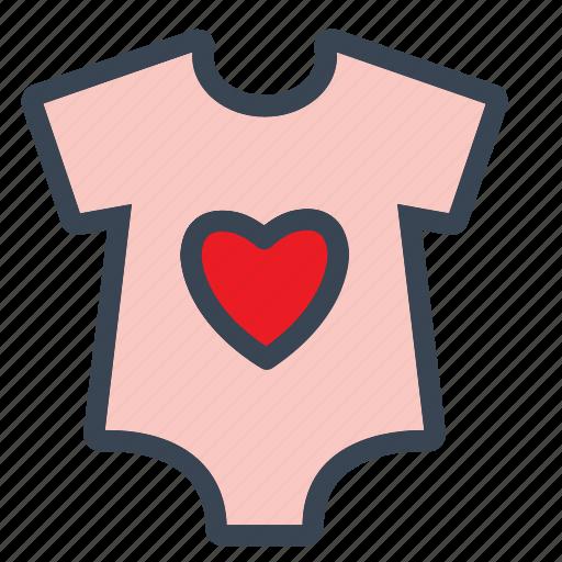 baby, babydress, boy, cloths, girl, shirt, tshirt icon