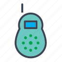 baby, babywalky, boy, girl, talky, toy, walky talky icon
