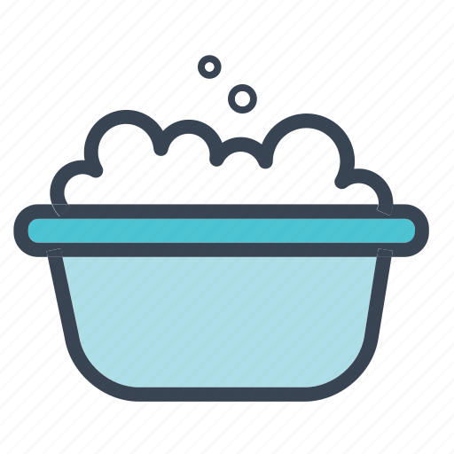 baby, bath, bath tub, boy, girl, kids, toy icon