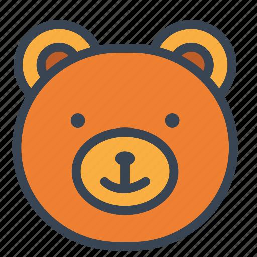 bear, boy, christmas, girls, kids, teddy, toy icon icon