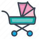 baby, boy, child, girl, kid icon, walker, wheels icon