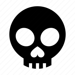 bone, dead, death, head, skeleton, skull icon