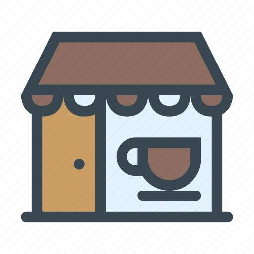 cafe, coffee, restaurant, shop, store icon