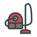 appliance, clean, cleaner, domestic, dust, equipment, vacuum icon