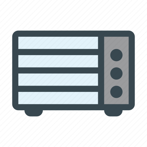 appliance, electric, home, machine, oven icon