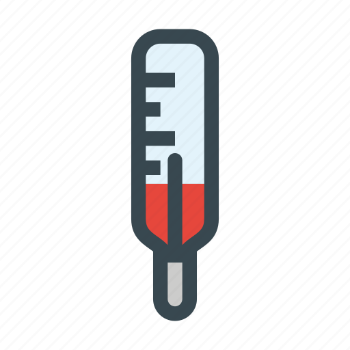 Fever, hot, sick, temperature, thermometer icon - Download on Iconfinder