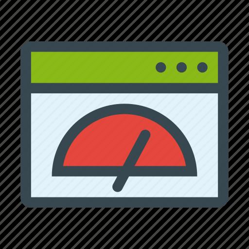 configuration, dashboard, optimization, speed, web icon