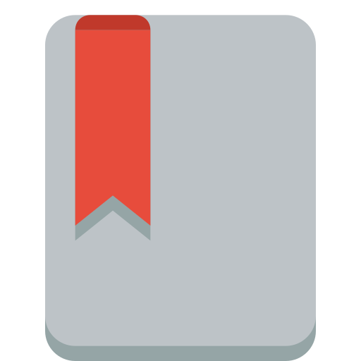 bookmark, file icon