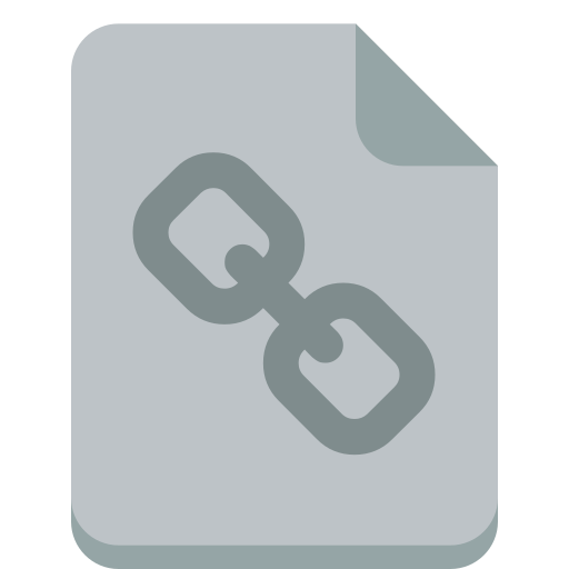 file, link icon
