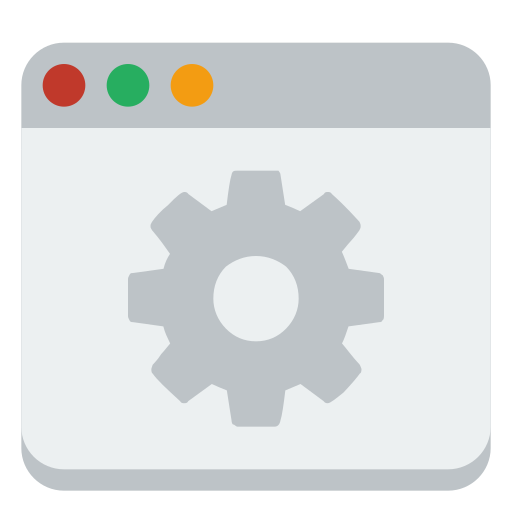 system, window icon