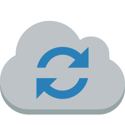 cloud, sync icon
