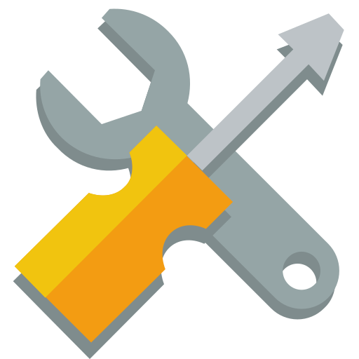 screwdriver, wrench icon
