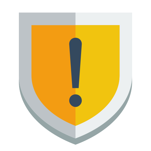 shield, warning icon