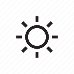 day, daytime, hot sun, light, star, sun icon