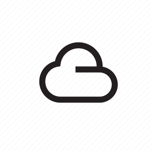 cloud, clouds, forecast, nature, sky, weather icon