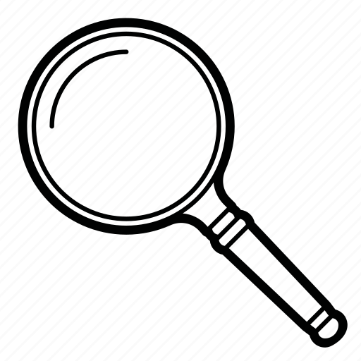 find, investigation, magnifier, search, zoom icon