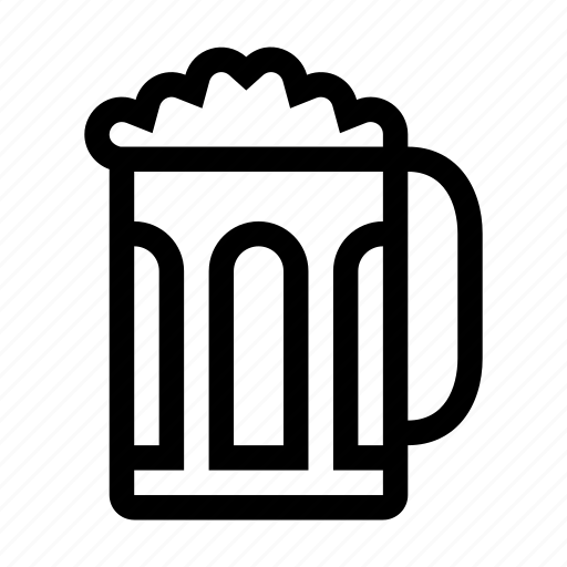 alcohol, beer, beverage, drink, jar icon
