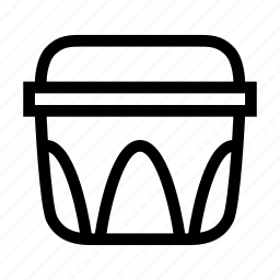 container, cook, food, kitchen, storage, tupperware icon