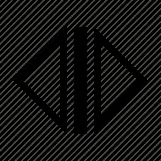 arrows, control, doors, elevator, open icon