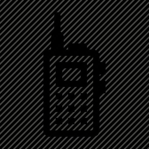 radio, security, talkie, transceiver, walkie icon