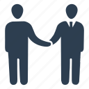 agreement, business deal, partnership icon