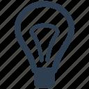 brainstorming, business, creativity, idea, innovation, light bulb icon