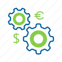 business, cash, currency, finance, money, seo, work icon