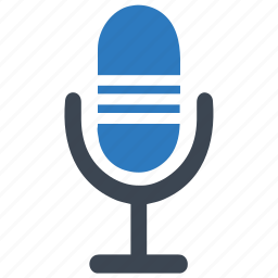 audio, communication, device, equipment, input, mic, microphone icon