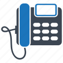 communication, connection, handset, landline, phone, telephone icon