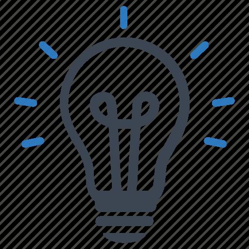 brainstorming, business idea, creative, creativity, light bulb icon