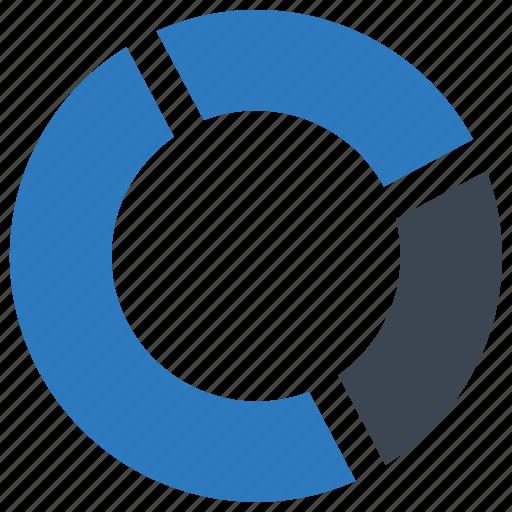 analytics, graph, pie chart, report, statistics icon