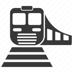 rail, railroad, railway, subway, train, transportation icon