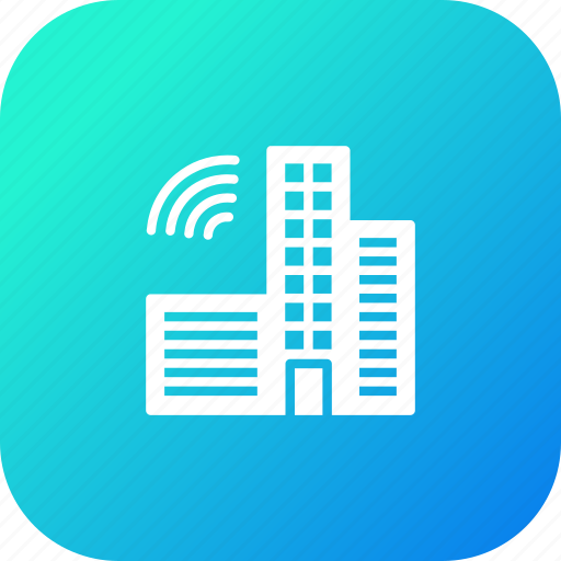 automated, automatic, building, city, construction, developement, smart icon
