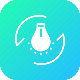 bulb, city, energy, flash, lamp, light, smart icon