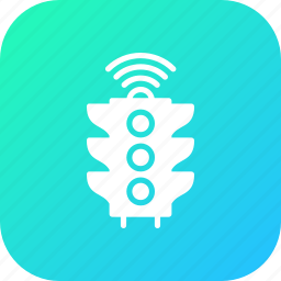 automatic, city, control, controller, managemnet, smart, traffic icon
