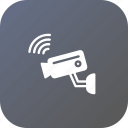 camera, city, device, saftey, security, smart, video icon