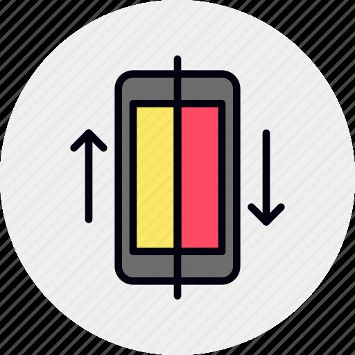 data, mobile, phone, smartphone, sync, synchronization icon