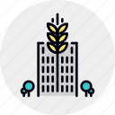 agriculture, city, ecology, ecosystem, environment, farming, urban icon