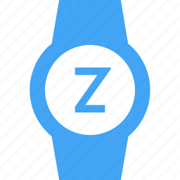 clock, smart watch, snooze, time, watch icon